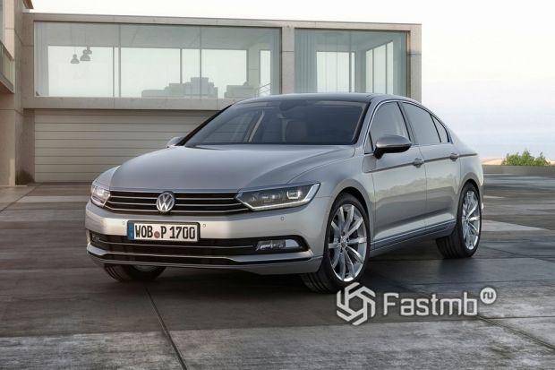 Эволюция Volkswagen Passat