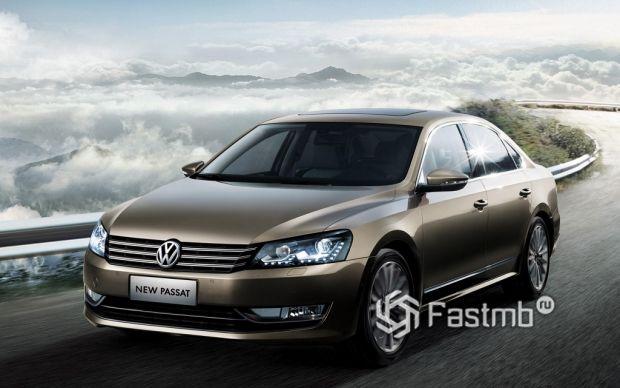 7 поколение Volkswagen Passat