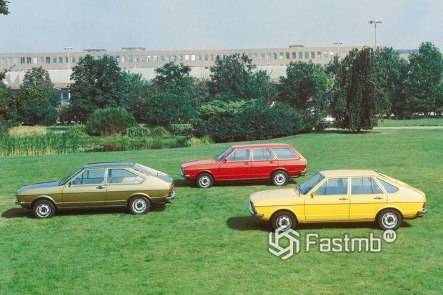 1 поколение Volkswagen Passat