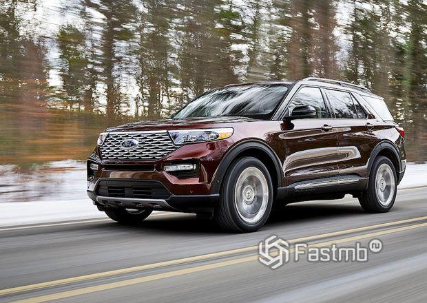 Новый Ford Explorer 2020