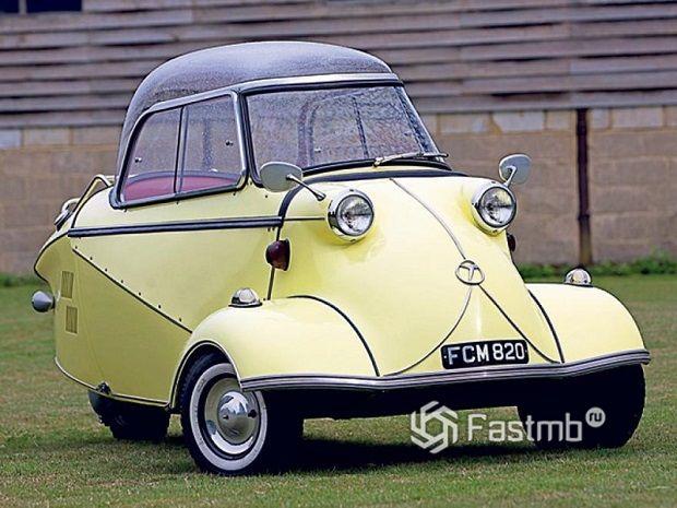 ТОП-10 странных немецких машин