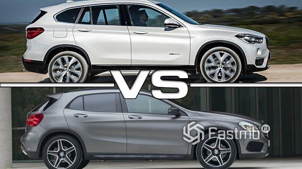 BMW X1 или Mercedes-Benz GLA-Class — что лучше?