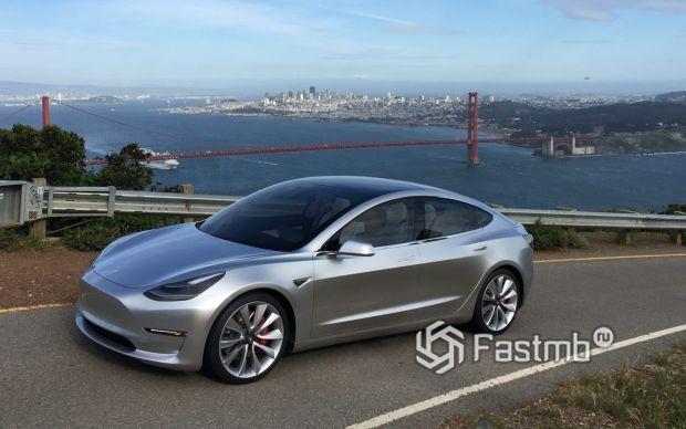 Обновленная Tesla Model 3 2019