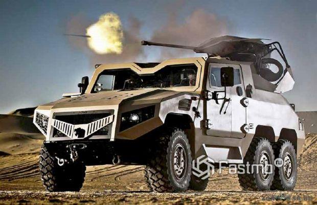бронеавтомобиль NIMR производства Объединённых Арабских Эмиратов