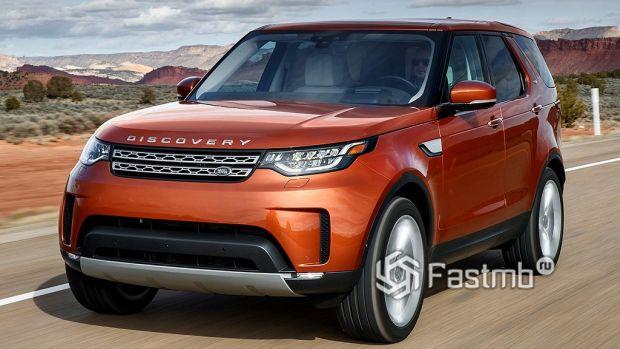 Land Rover Discovery, экстерьер