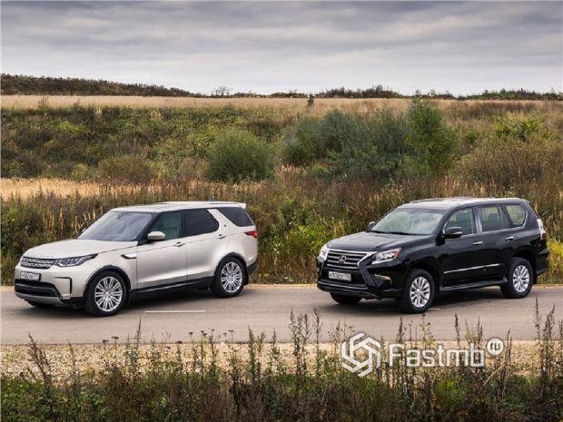 Lexus GX и Land Rover Discovery — что лучше?