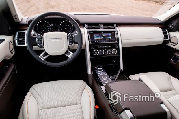Land Rover Discovery, салон