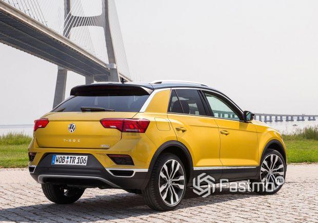 Светодиодные стопы Volkswagen T-Roc