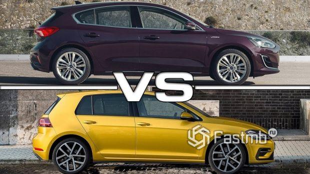 VW Golf и Ford Focus