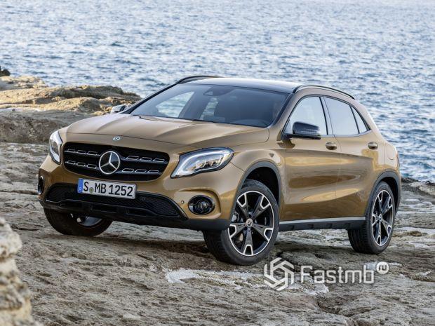 экстерьер Mercedes-Benz GLA-Class