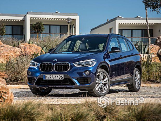 экстерьер BMW X1
