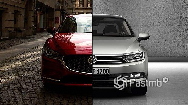 VW Passat против Mazda 6 — что лучше?