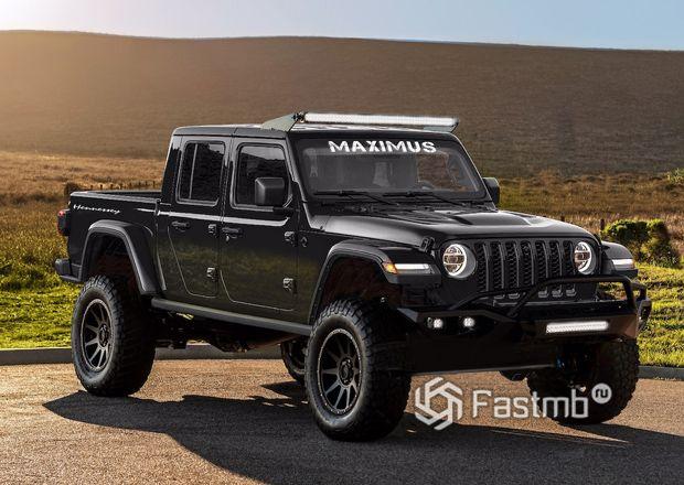 Заряженный Jeep Gladiator Hennessey Maximus