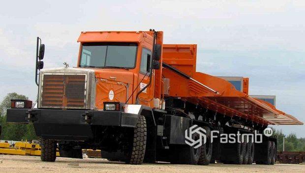 Самые мощные грузовики в России: ТОП-7