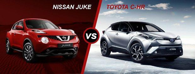 Toyota CH-R и Nissan Juke — что лучше?
