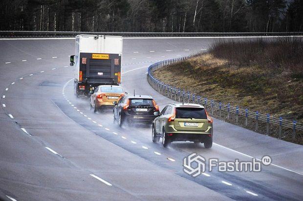 дистанция на дорогах в Финляндии