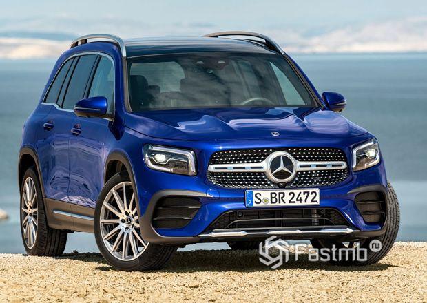 Новый Mercedes-Benz GLB 2020