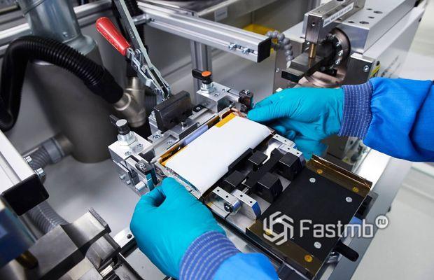 Процесс производства аккумуляторов