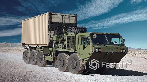 Самые интересные военные грузовики мира: ТОП-10