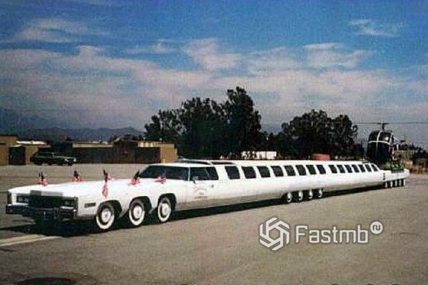 Самые длинные автомобили: ТОП-13