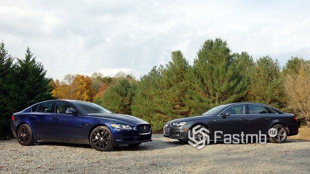 Jaguar XE или Audi A4 — что лучше?