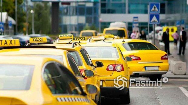 Частные организации такси в Украине
