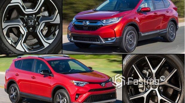 Сравнение моделей Toyota и Honda