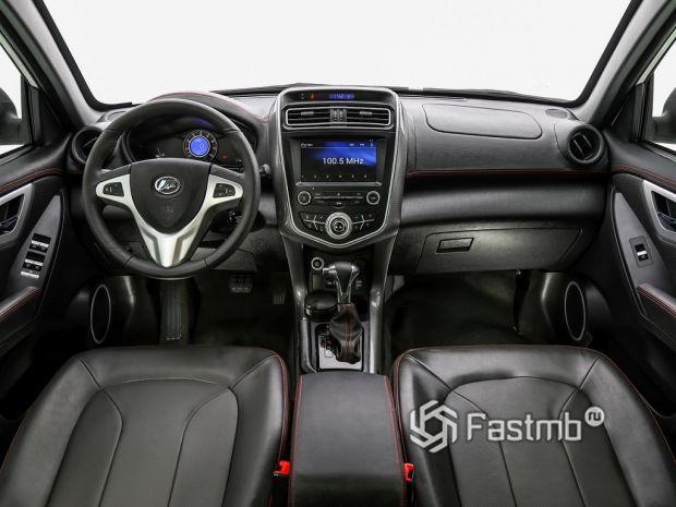 Внутреннее оформление Lifan X60