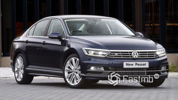 внешний облик VW Passat