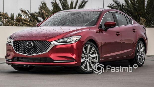 внешний облик Mazda 6