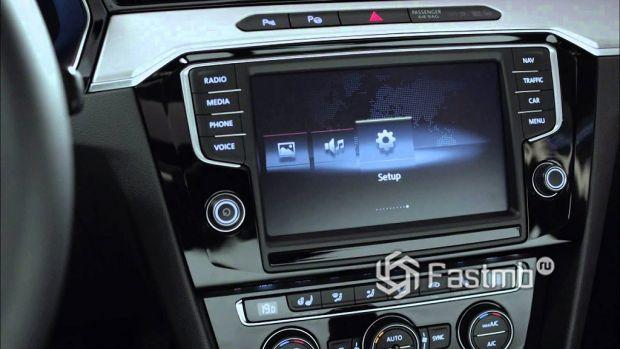 элементы интерьера VW Passat