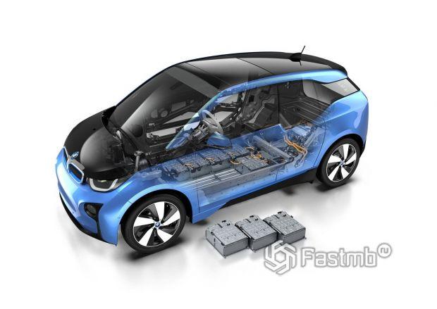 Аккумуляторные батареи электрокаров