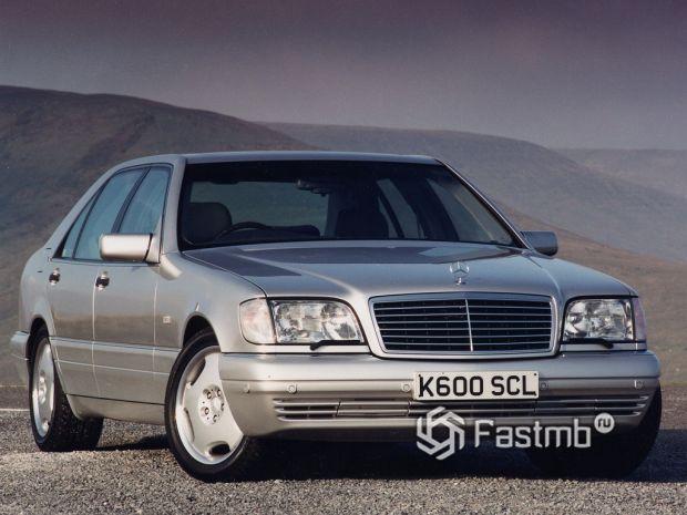 Mercedes S-класс W140