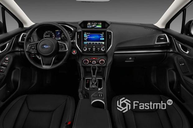 Передняя панель Subaru Impreza 2018