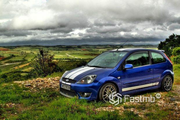 5 поколение (2002-2008) Ford Fiesta