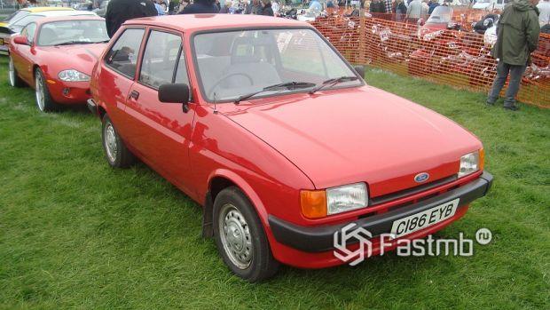 2 поколение (1983-1989) Ford Fiesta