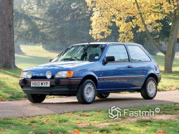 3 поколение (1989-1995) Ford Fiesta