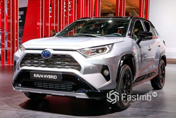 Пятое поколение (с 2018 по сегодняшний день) Toyota RAV4