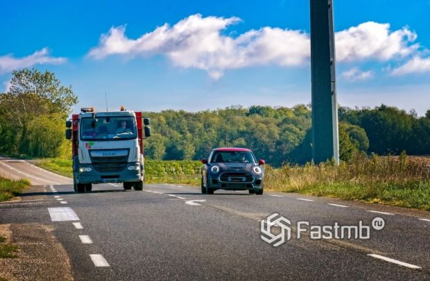 обгоны на дорогах Финляндии