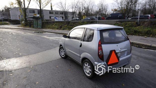mopoauto на дорогах Финляндии