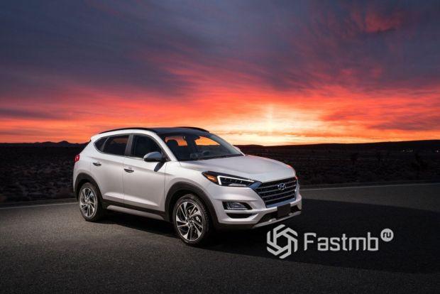 Корейский Hyundai Tucson 2019