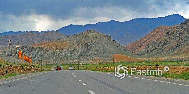 дорога на Бишкек