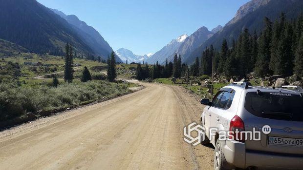 дорога на Каракол, Киргизия