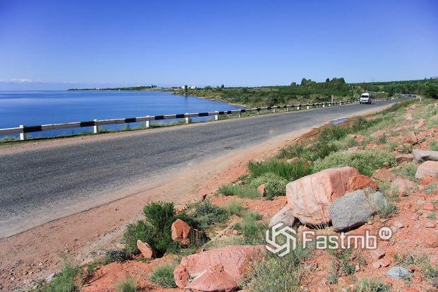 дорога вокруг озера Иссык-Куль