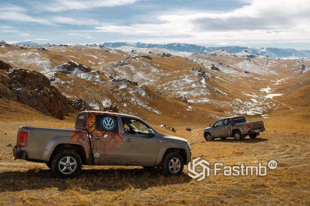 Volkswagen Amarok - на пути в Среднюю Азию