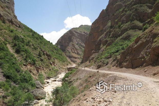 подъезд к перевалу Хабуработ