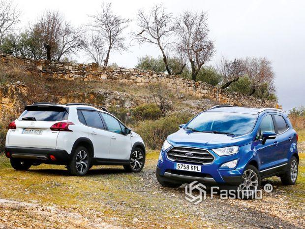 Peugeot 2008 или Ford EcoSport — что лучше?