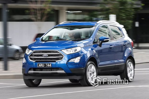 внешний вид Ford EcoSport