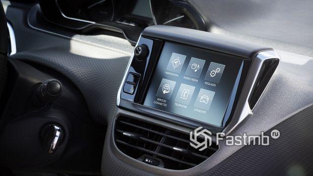 элементы интерьера Peugeot 2008