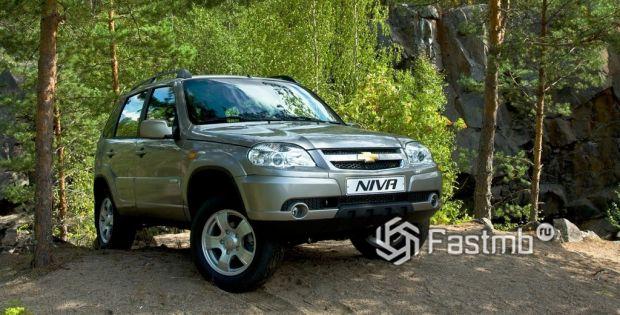 внешний вид Chevrolet Niva